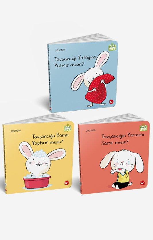 0-3 Yaş Resimli İnteraktif Çocuk Kitapları Seti