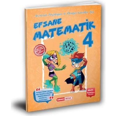 4. Sınıf Efsane Matematik Soru Bankası Kırmızı Beyaz Yayınları