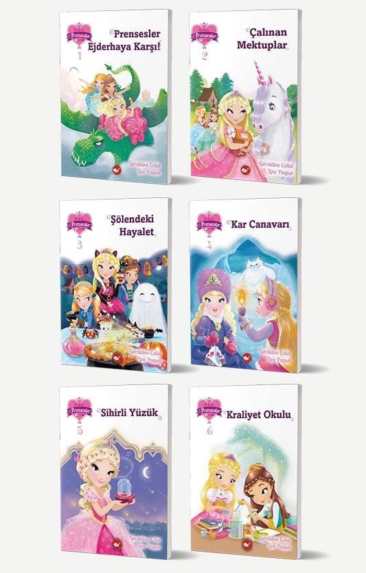 123 Prensesler 6 Kitap Set