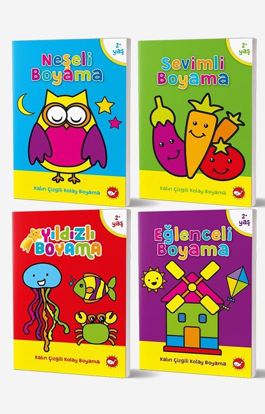 2-4 Yaş Boyama Kitapları Seti