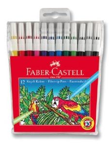 Faber-Castell Keçeli Boya Kalemi 12'li