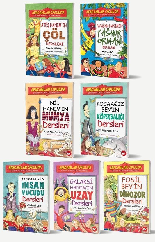 Afacanlar Okulda 7 Kitap Set