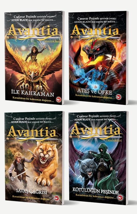 Avantia Günlükleri 4 Kitap Set