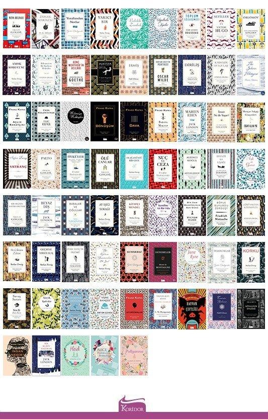 Bez Ciltli Klasikler - 67 Kitap