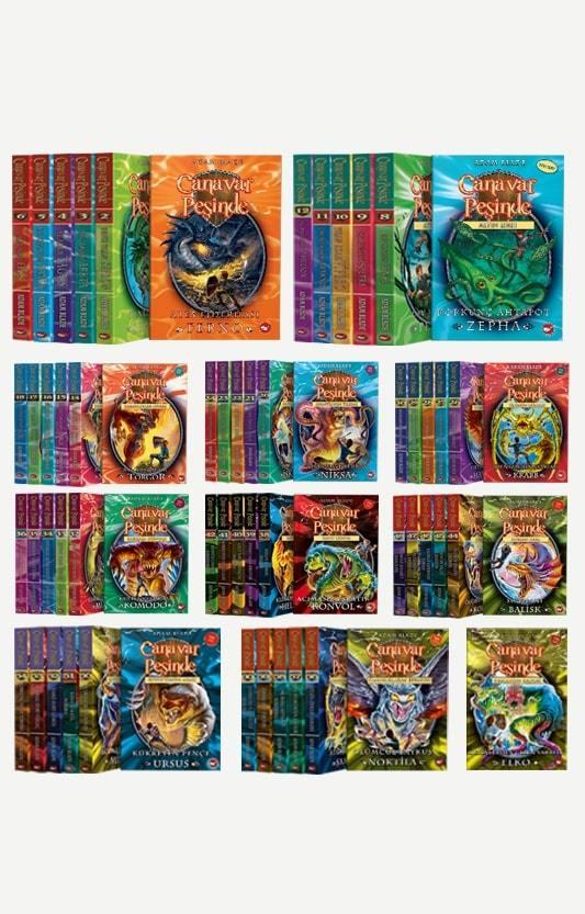 Canavar Peşinde 62 Kitap Set