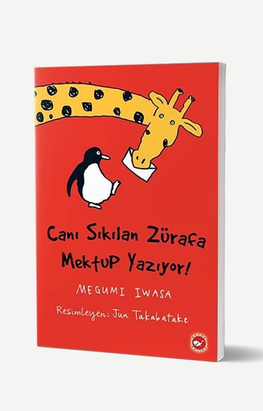 Canı Sıkılan Zürafa Mektup Yazıyor - Karton Kapak