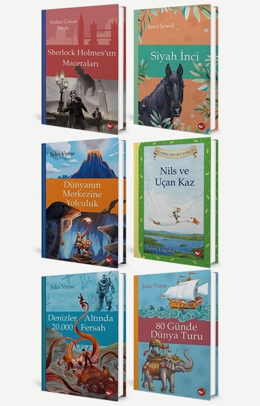 Çocuk Klasikleri Okuyorum - 6 Kitap