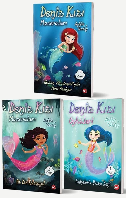 Deniz Kızı Maceraları Set - 3 Kitap