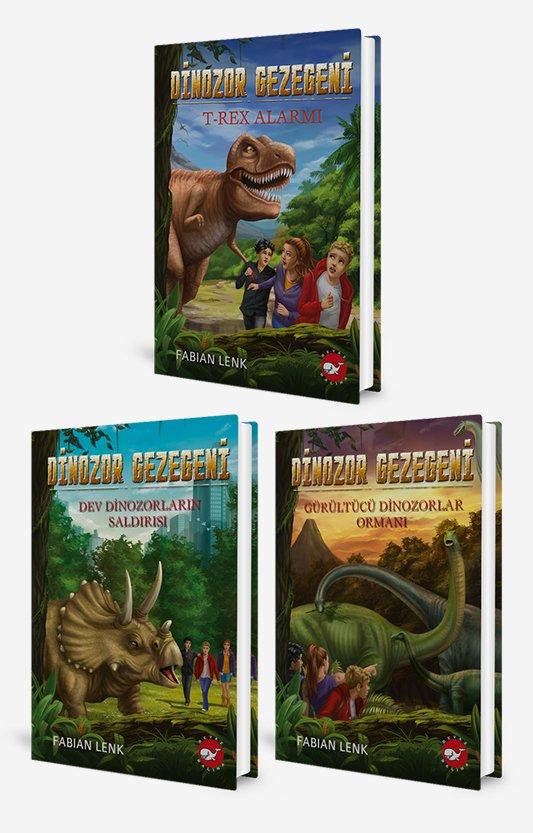 Dinozor Gezegeni Seti - 3 Kitap