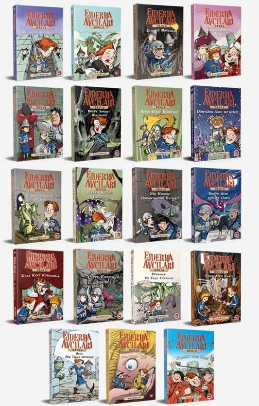 Ejderha Avcıları Okulu 20 Kitap Set