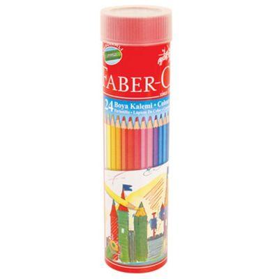 Faber Castell Metal Tüp Boya Kalemi 24 Renk
