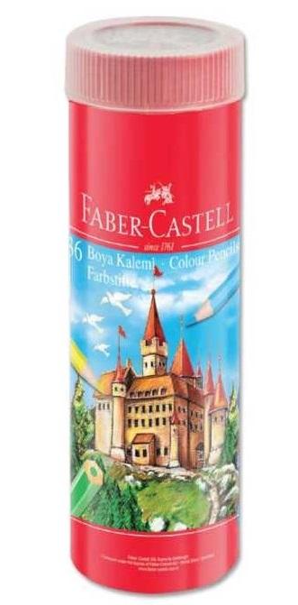 Faber Castell Metal Tüp Boya Kalemi 36 Renk