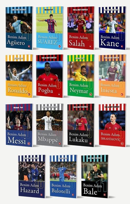 Futbolcular Serisi - 15 Kitap