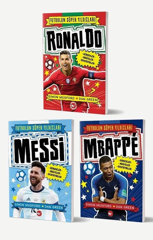Futbolun Süper Yıldızları - 3 Kitap Set