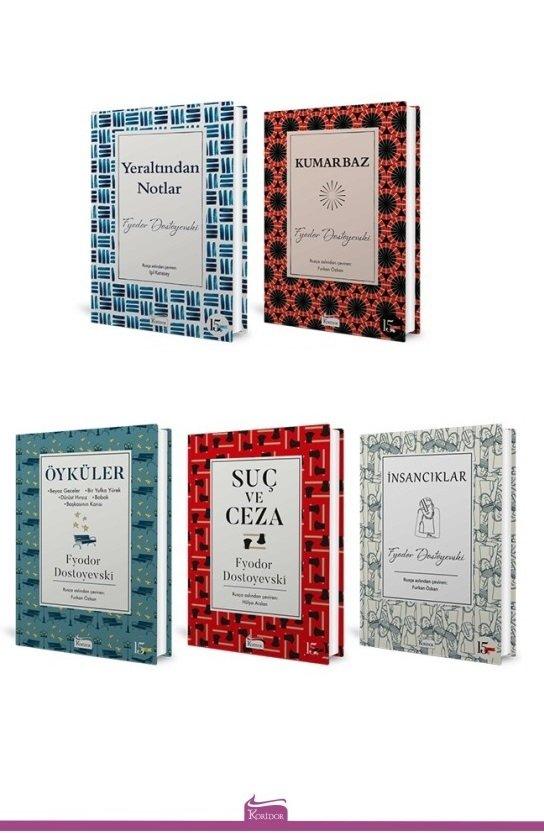 Fyodor Dostoyevski - 5 Kitap Set