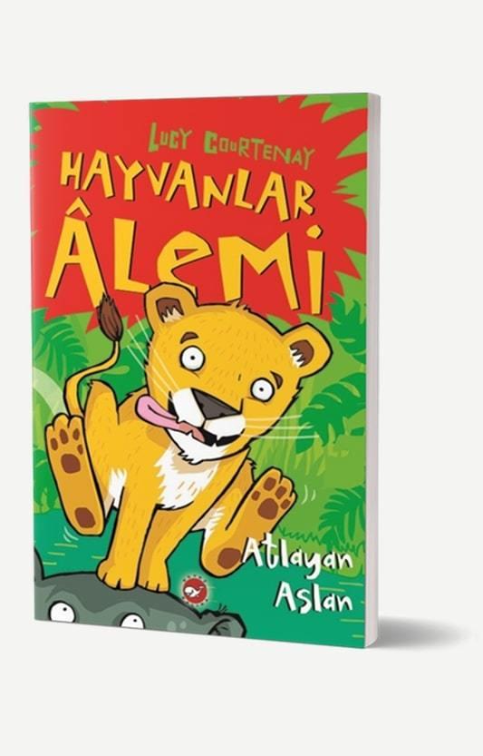 Hayvanlar Alemi- Atlayan Aslan