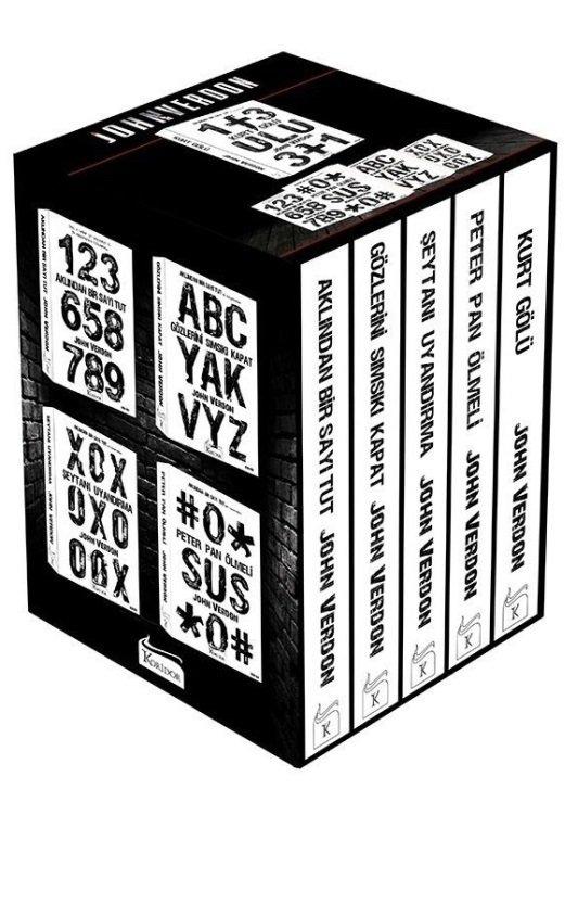 John Verdon 6 Kitap Polisiye Set