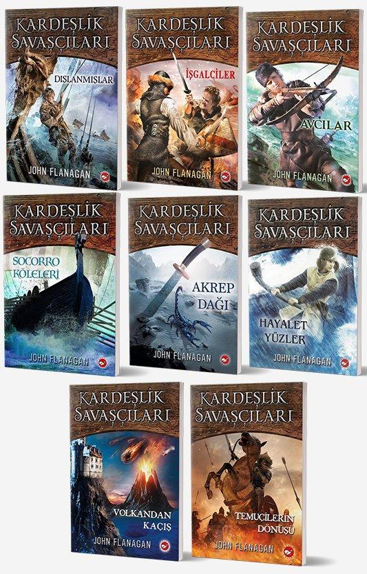 Kardeşlik Savaşçıları 8 Kitap Set