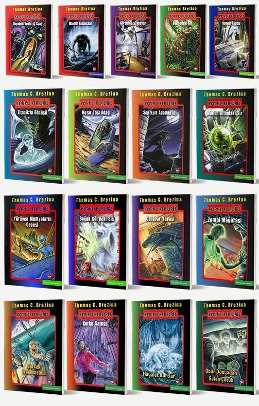 Korku Kulübü 17 Kitap Set
