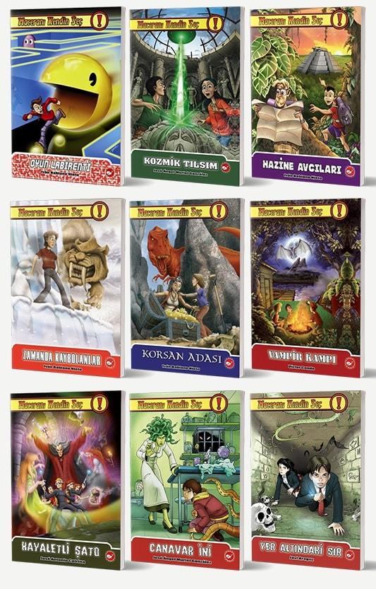 Maceranı Kendin Seç 9 Kitap Set