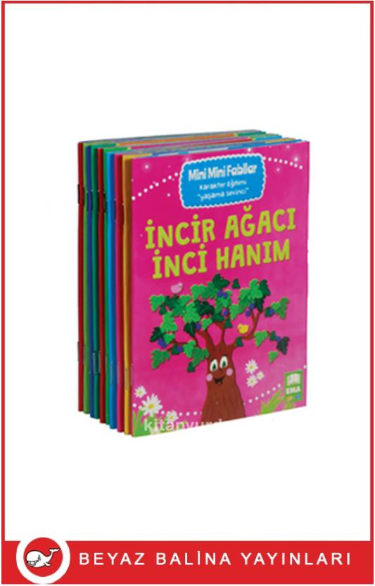 Mini Mini Fabllar 10 Kitap Set