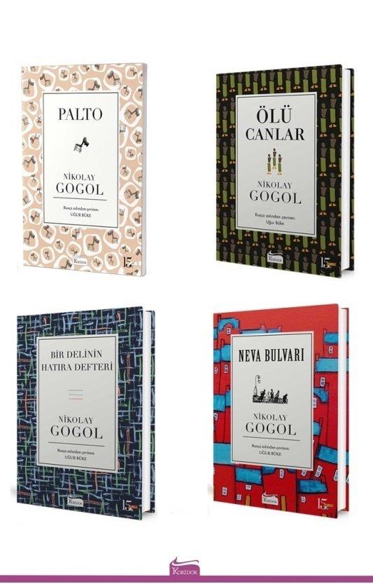 Nikolay Gogol - 4 Kitap Set