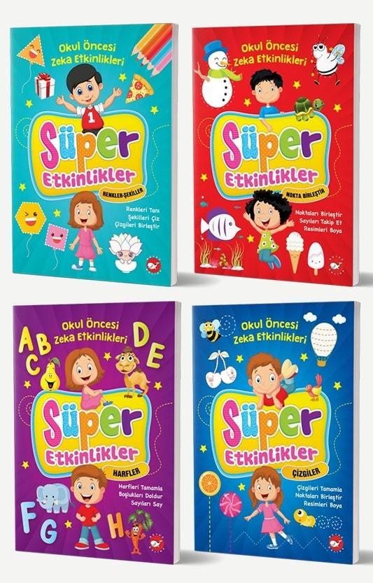Okul Öncesi Zeka Geliştiren Etkinlik Kitapları Seti