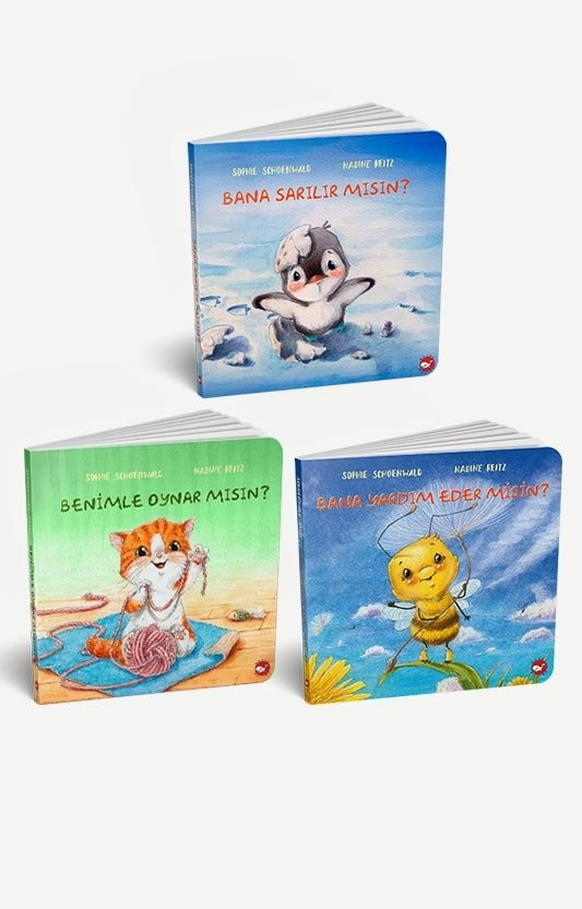Resimli İnteraktif Çocuk Kitapları Seti