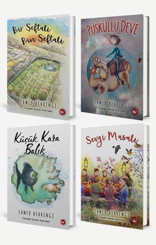 Samed Behrengi 4 Kitap Set