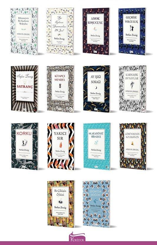 Stefan Zweig 14 Kitap Set