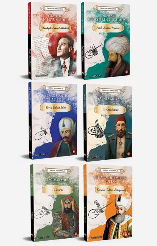 Tarihte İz Bırakanlar - 6 Kitap Set