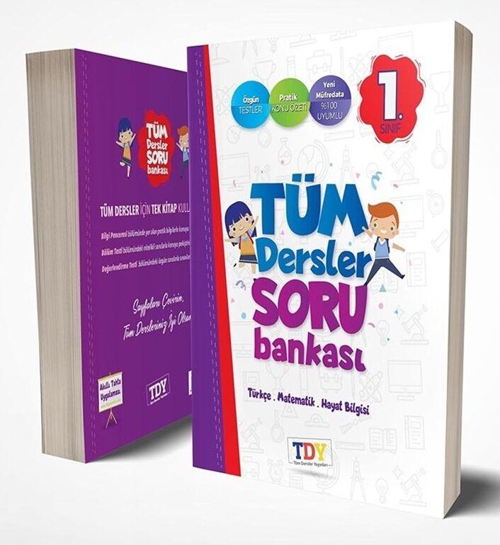 1. Sınıf Tüm Dersler Soru Bankası TDY Yayınları