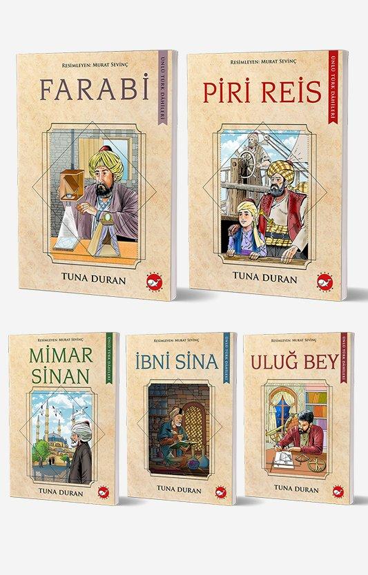 Ünlü Türk Dahileri 5 Kitap Set