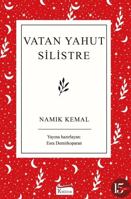 Vatan Yahut Silistre - Bez Ciltli