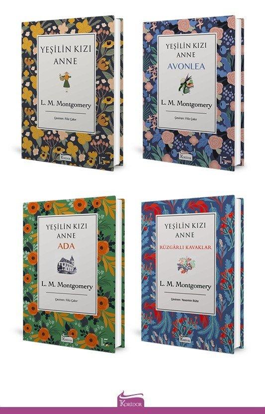 Yeşilin Kızı Anne 4 Kitap Set